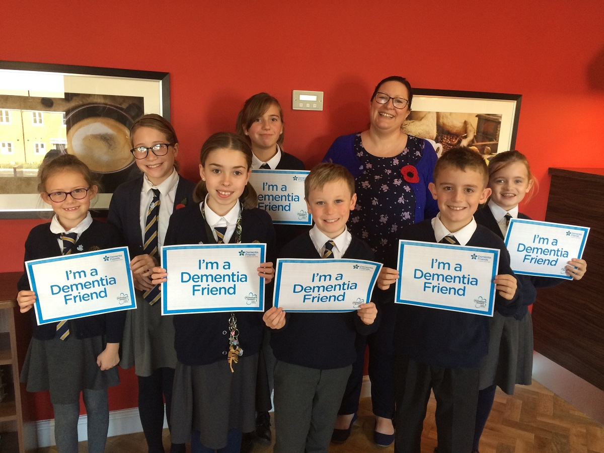 dementia friends oxfordshire