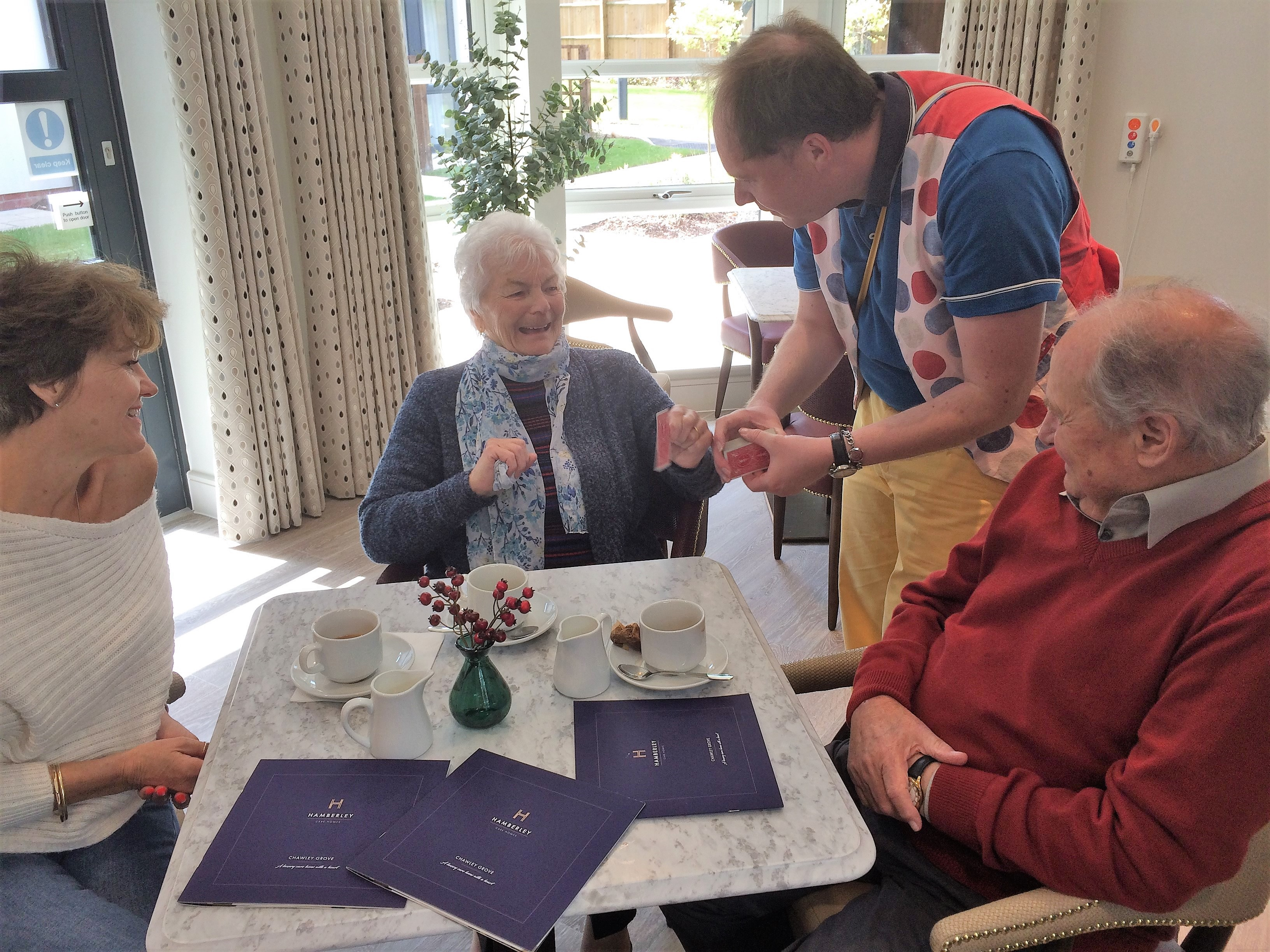 chawley grove care home dementia care